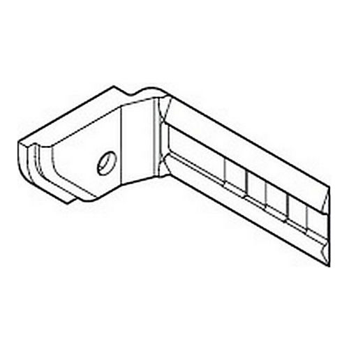 Hafele 403.50.945 Center Door Stopper for Mounting into the Top Guide Track