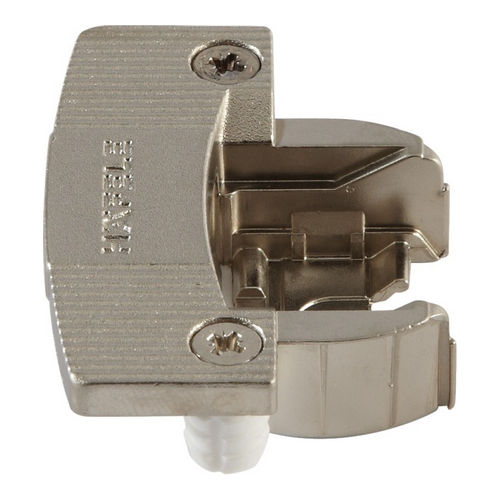 Hafele 344.06.810 Single Pivot Institutional Hinge Cup, Aximat 300, Grade 1 for 8 mm Holes, Dowel Mount