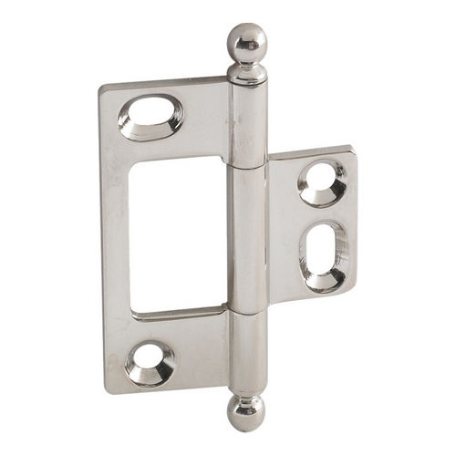 Hafele 351.95.782 Decorative Butt Hinge, Non-Mortise, Ball Finial