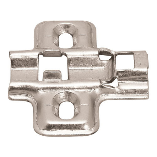 Hafele 315.98.520 Mounting Plate, Flanged for Clip-On Hinges
