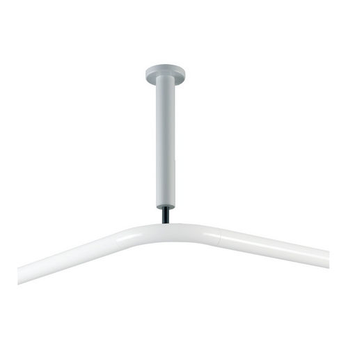 Hafele 988.95.712 Ceiling Support for Shower Curtain Rod