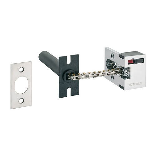 Hafele 911.59.083 Security door guard for inwards opening wooden doors