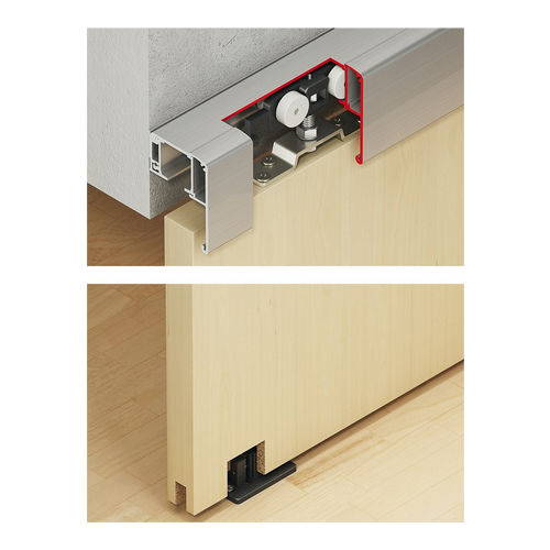 Hafele 940.82.103 Sliding door fitting with Soft Close (Double Mechanism)