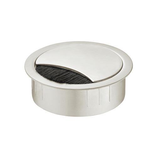 Hafele 631.31.012 Metal Cable Grommet, Two-piece, Round