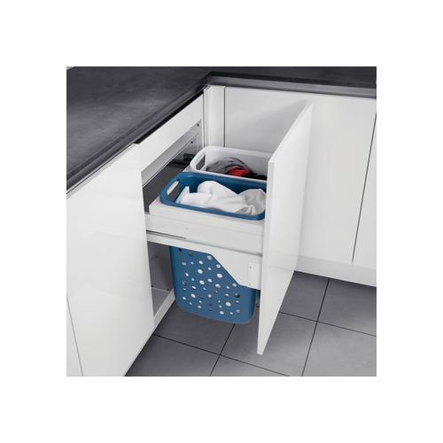 Hafele 502.72.705 Laundry Hamper, Hailo 60 with Full Extension