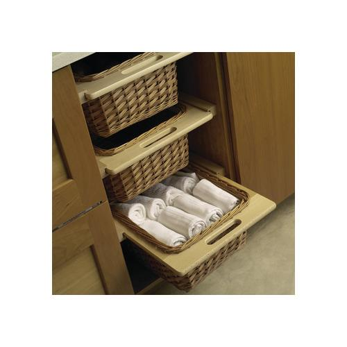 Hafele 540.55.001 Wicker Basket, with Frame Handles