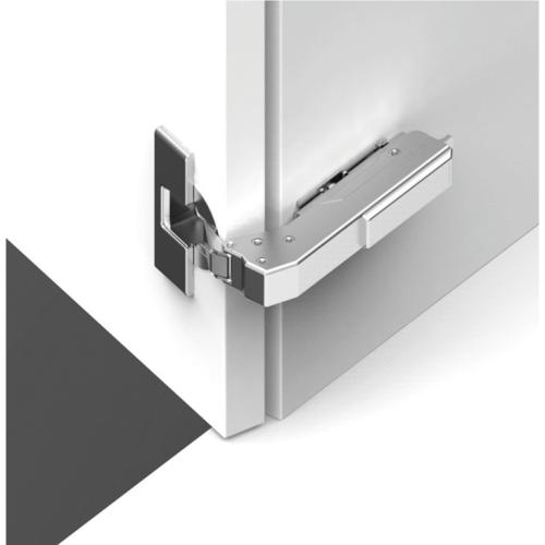 Hafele 348.37.810 Concealed Blind Corner Hinge, Grass TIOMOS, 110° Opening Angle, Inset Mounting