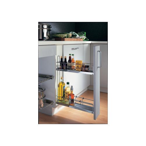 Hafele 545.61.233 Base Cabinet Pull-Out, 3-Tier, 90°