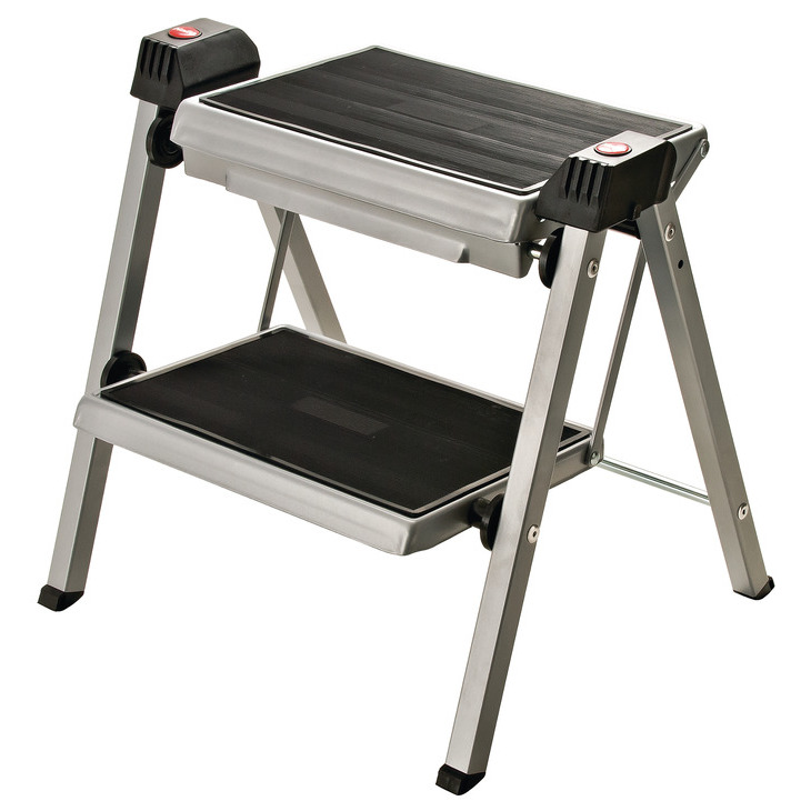 Terrific Hafele 505 04 210 Stepfix Step Stool Folding Inzonedesignstudio Interior Chair Design Inzonedesignstudiocom