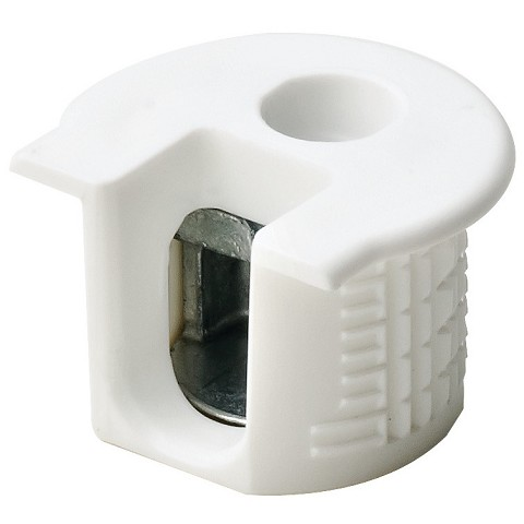 Hafele 263.10.705 Connector Housing, Rafix 20 System, without Ridge, Plastic